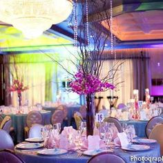 White wedding reception decor by The Imperia