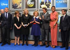 Diane Sawyer David Muir Photos - (L-R) James Goldston, President ABC News; Bob Iger, chairman and CEO of The Walt Disney Company; Anne Sweeney, Co-chair, Disney Media Networks and President, Disney/ABC Television Group; ABC News anchor Diane Sawyer; Barbara Walters; ABC News anchor David Muir, ABC 'Good Morning America' anchor Robin Roberts and ABC 'Good Morning America' anchor George Stephanopoulos attend the dedication ceremony as ABC News headquarters in New York is proclaimed 'The…