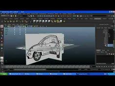 Car Modeling in Autodesk Maya
