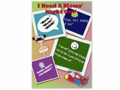 Why I need a moms' night out! #HPSmartMom
