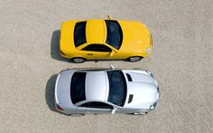 First And Second Generation Mercedes Benz Slk Top View Photo on March 2011 Auto Motor, Motor Car, Porsche, Audi, Mercedes Benz 190, Slc, Small Cars, Motor Sport, Top View