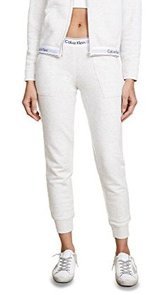 These timeless jogger bottom sweatpants feature front pockets, banded ankles, and an elastic Calvin Klein logo waistband  http://darrenblogs.com/us/2018/01/24/calvin-klein-womens-modern-cotton-jogger-pant/