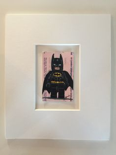 Batmobile out of action . Oil on ticket