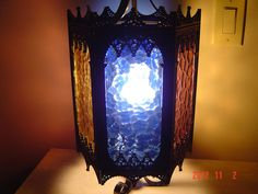 Gothic Medieval Hanging Light by PennyBunny on Etsy, $150.00