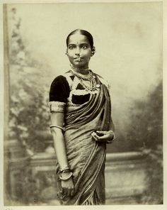traditional indian saris 1860 - Google Search