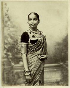 traditional indian saris 1860 - Google Search
