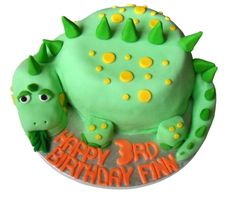 Faith has requested a dinosaur cake. Dinosaur Birthday Cakes, 4th Birthday Cakes, Dinosaur Cakes For Boys, Dinosaur Party, Dinosaur Cake Easy, Dinosaur Cupcakes, Birthday Ideas, Dino Cake, Character Cakes