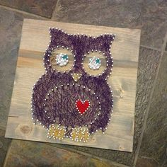 Oliver the Owl by GrizzlyandCo on Etsy, $30.00