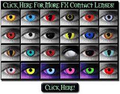b053a986ecf17 Glow in the dark contacts Lentes De Olho Zumbi, Lentes De Contato  Coloridas, Olhos