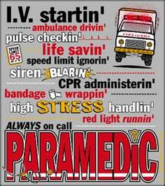 paramedic duties