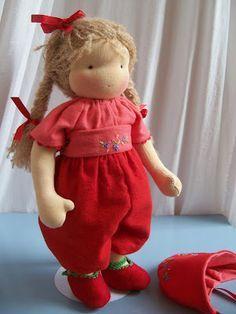 Poppenatelier Ineke Gray; doll hair