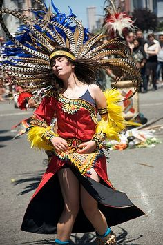 Aztec Dancers by davegolden, via Flickr