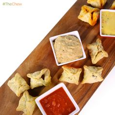 Carla Hall's Pigs in a Blanket w/ Dipping Sauces! #TheChew #Appetizer #PigsInABlanket