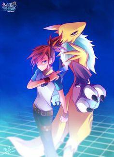 Digimon Tamers: Ruki and Renamon