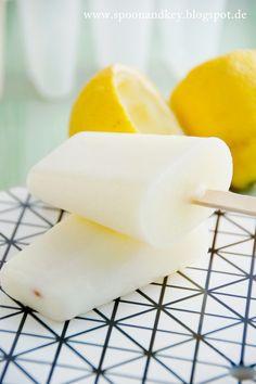 Buttermilch-Zitronen-Eiss Rezept - Sehr gute Alternative zu Cornetto Buttermilch-Zitronen Eis :)