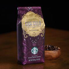 Starbucks Coffee Beans, Coffee Cafe, My Coffee, Coffee Packaging, Packaging Design, Drinks, Design Ideas, Food, Feminine Fashion