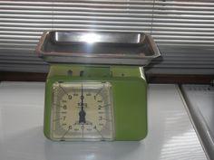 Kitchenalia Retro Vintage Collectible Mid century - Stube of West Germany Vintage Kitchen scales.