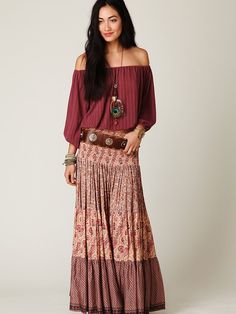 Más de 44 ideas Diy Home Decor Hippie Bohemian Boho Style Bohemian Skirt, Bohemian Look, Boho Chic, Hippie Bohemian, Bohemian Outfit, Mode Hippie, Mode Boho, Gypsy Style, Hippie Style