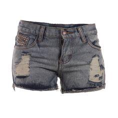 Short Jeans Tachas, Vania Milena, $26.900.