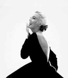 Bert Stern Marilyn Monroe: From the Last Sitting, 1962 (With Black Dress, Looking Over Shoulder)