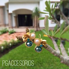 🌱🌱🌱PG🌱🌱🌱 #pgaccesorios #chapadeoro #goldplated #aretes #earrings #hechoamano #handmadejewerly #joyer - pg_joyeriaartesanal