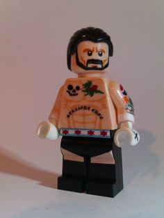 LEGO CM Punk Not sure if twitpic poster is source, but I want one Lego Wwe, Legos, Lego Tattoo, Sports Illustrated Kids, Best Wrestlers, Wwe Toys, Wwe Action Figures, Wwe Champions, Cm Punk