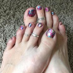 Paint Party on my toes! http://www.getjammedup.com