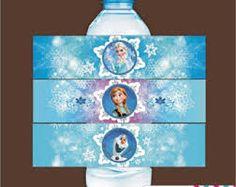 imagenes de frozen para imprimir gratis para botellas de agua - Buscar con Google