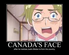 why does no one notice canada in hetalia - Google Search