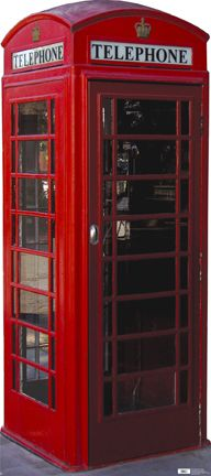 Red Phone Booth (British Phone Booth Standup, eLifesize)