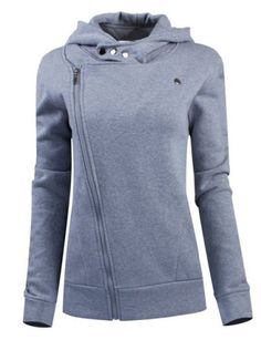 Stylish Solid Color Long Sleeves Solid Color Hoodie For WomenSweatshirts & Hoodies   RoseGal.com