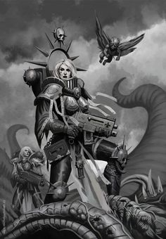 """warhammer-fan-art: """" by www.michalsuchanek.cz """""""