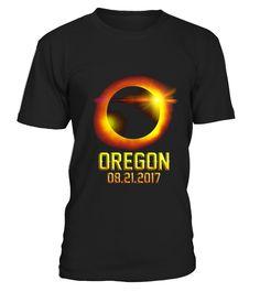 Oregon Total Solar Eclipse 2017 Tshirt  Funny Total Eclipse Solar T-shirt, Best Total Eclipse Solar T-shirt
