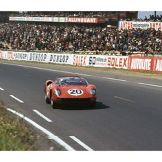 Ferrari 275P which Jean Guichet and Nino Vacarella drove to victory in the 1964 Le Mans 24 Hours.