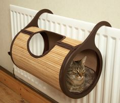 hanging tonnel on the battery heater for cats, Fauna International