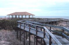 Sapelo Island Beach Pavilion. Walked this beach many, many times.