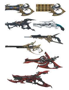 Machinist Arms from Final Fantasy XIV: Heavensward