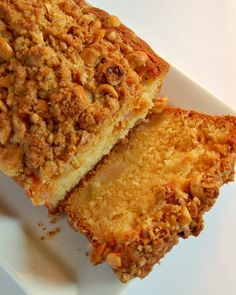 pear crumble cake, the next recipe on my list