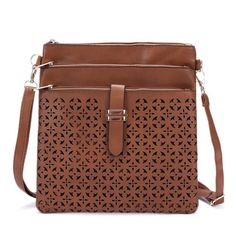 2017 Fashion Small Bag Women Messenger Bags Soft PU Leather Hollow Out  Crossbody Bag For Women