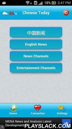 China Today News  Android App - playslack.com , China Today News and TV is an app to keep up-to-date with the latest news happening in China and all over the world. App is capable of storing news locally to read the news in offline mode without internet connection.Some of the important features:- App has got all the important news from all the popular newspapers.- You can read all the latest news from various categories - World News, Business, Technology, Politics, Movies, Cricket…