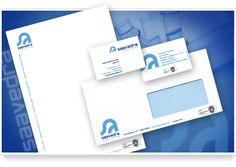 Nueva imagen, logotipo y aplicaciones para la empresa Saavedra Analistas.