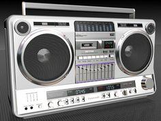 Panasonic RX-5350B Boombox