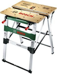 Buy a used Bosch PWB 600 Workbench by comparing retail prices in UK. ✅Compare prices by leading retailers that sells ⭐Used Bosch PWB 600 Workbench for cheap prices. Portable Workbench, Bosch Tools, Tiny House Furniture, Before And After Diy, Woodworking Toys, Work Surface, Garage Workshop, Working Area, Woodworking
