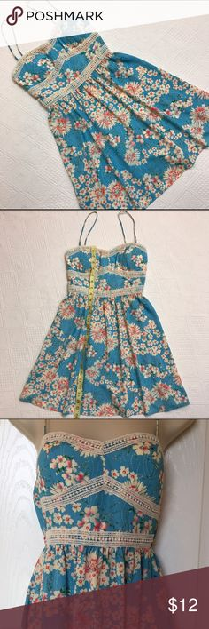 Pretty summer dress ❤️ Very pretty Three Pink Hearts summer Dress. Size Small. three pink hearts ❤️❤️❤️ Dresses
