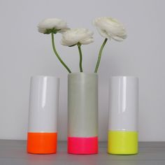 Dipped Cylinder Vase - Accessories - Shop