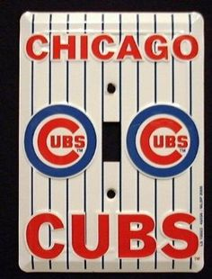 Amazon.com: Prideplates Chicago Cubs Light Switch Cover (single) Prideplates Chicago Cubs Light Switch Cover (s: Home & Kitchen