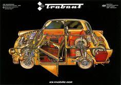 Trabant Cutaway
