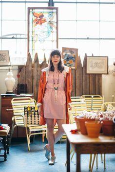 Kling Raincoat, Kling Dress, Boucou Necklace