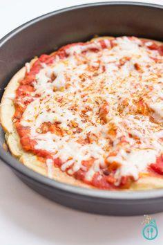 Gluten Free Quinoa Pizza Crust