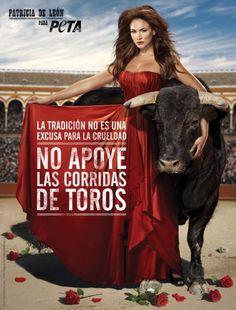 No apoye las corridas de toros